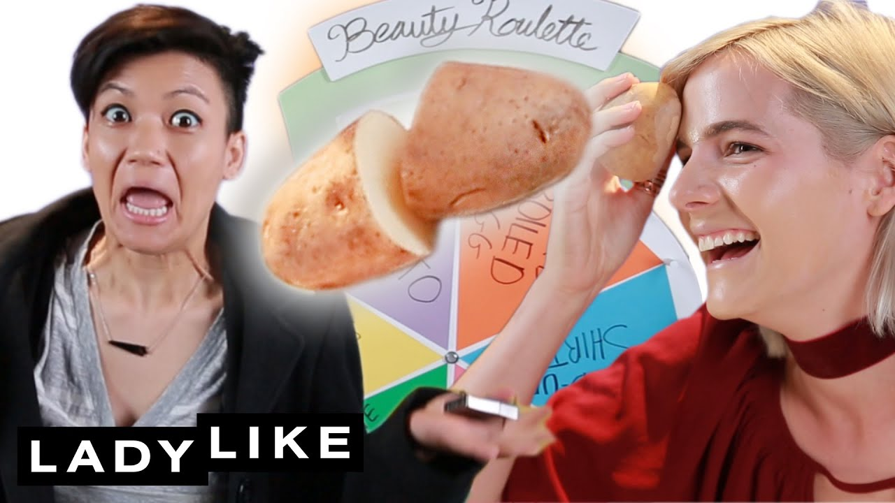 """We Tried The """"Beauty Blender"""" Challenge • Beauty Roulette"""