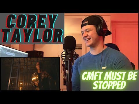 Norwegian Metal Musician Reacts - COREY TAYLOR - ''CMFT must be stopped''