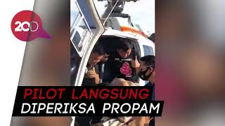 Heboh 3 Pemuda Naiki Helikopter Polisi, Pilot Diperiksa Propam!