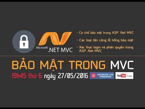 [STANFORD] LIVE CHỦ ĐỀ BẢO MẬT TRONG LẬP TRÌNH WEB BẰNG ASP.NET MVC