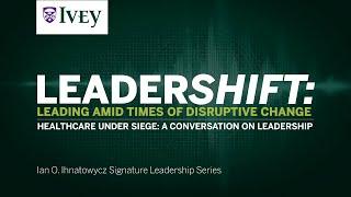 Thumbnail Healthcare Under Siege: A Conversation on Leadership