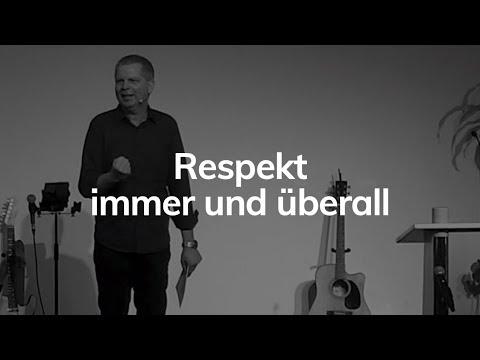 Respekt, Immer und überall - Mt 7,12 - Die Kunst der schwierigen Liebe - Jürgen Oppenheim