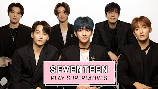 Seventeen Reveals Who's the Most Romantic, the Sweetest, and More | Superlatives