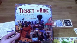 DGA Reviews: Ticket to Ride: The Card Game (Ep. 254)