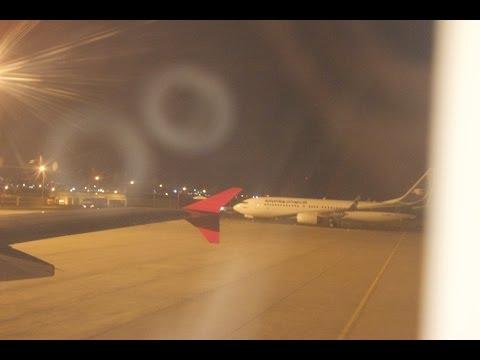 Turkish Airlines flight TK806 landing in sulaimanyah airport on Runway31