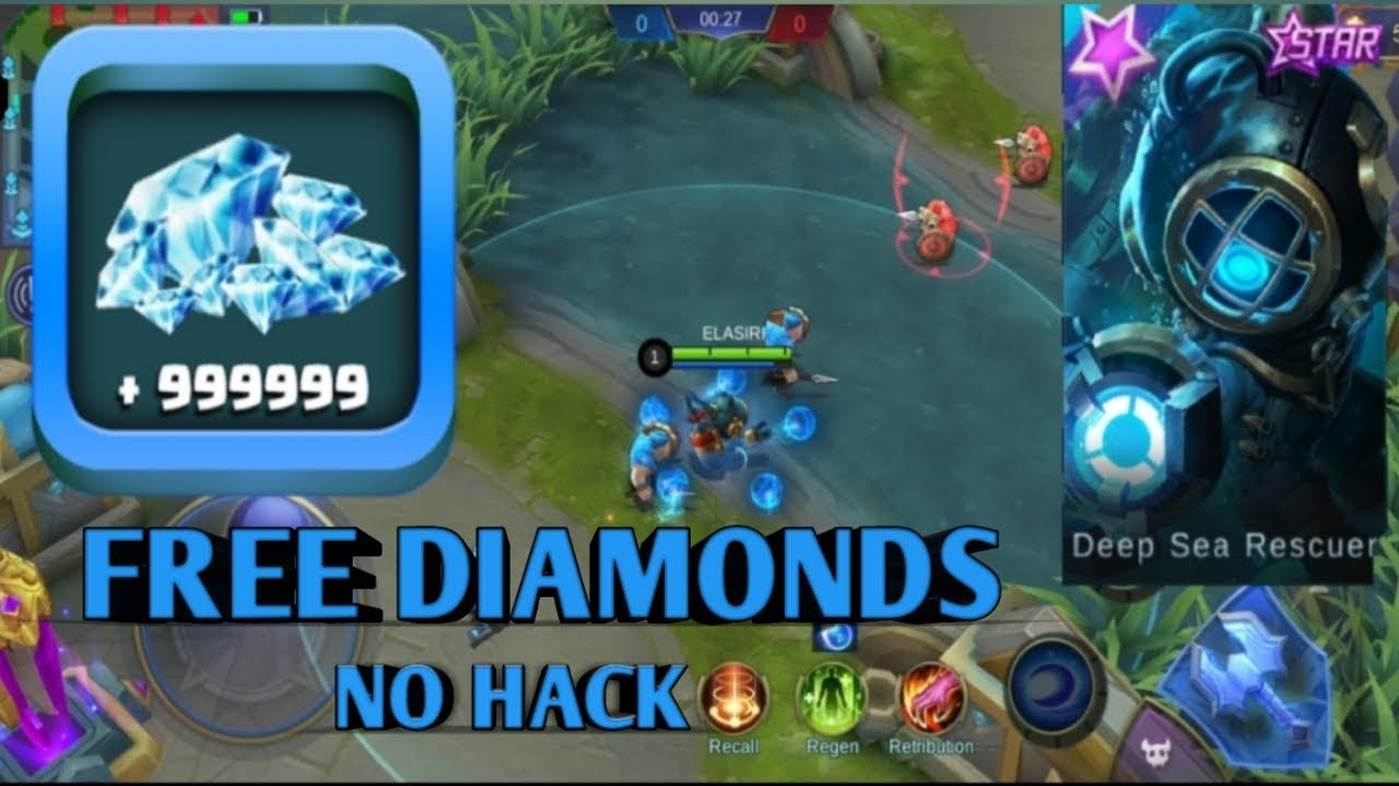 The Best Way To Get Free Diamonds In Mobile Legends Youtube