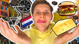 FETTSACK in AMSTERDAM🤤😮(Alles Essen in AMSTERDAM😍)
