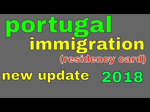 portugal immigration(residency card) 2018 new update(SEF) in Hindi_Urdu