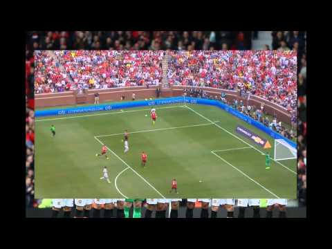 Manchester United vs Real Madrid 3-1 highlights (8/2/2014) 720p English Commentary