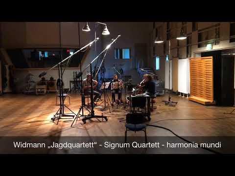 Widmann: Jagdquartett - opening section 2 (Signum Quartet)