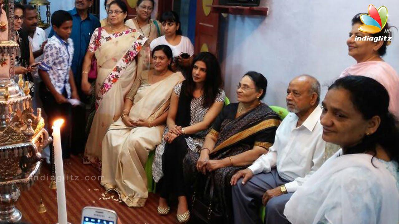 Funeral Of Priyanka Chopras Grandmother Stopped In Kerala -6622