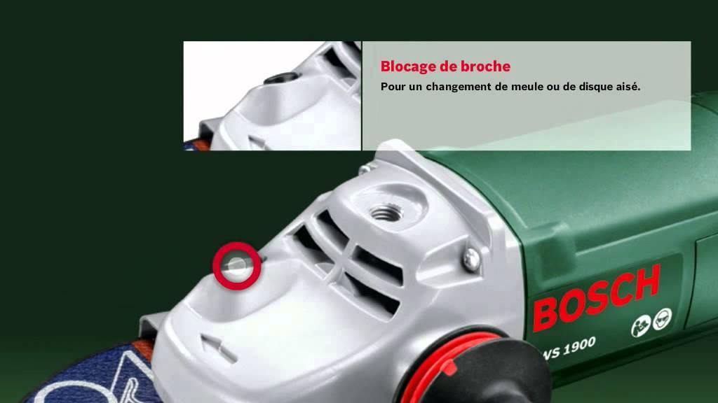 magasins d'usine acheter pas cher nouveaux prix plus bas Meuleuse angulaire Bosch PWS 1900