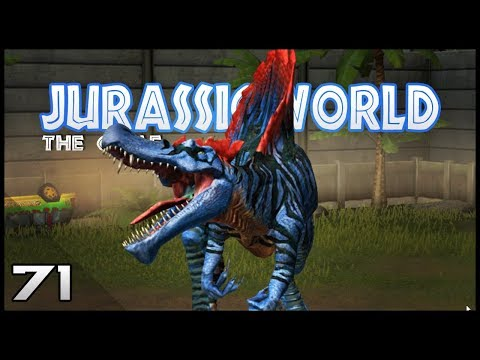 Jurassic World || 71 || Spinosaur MAXED