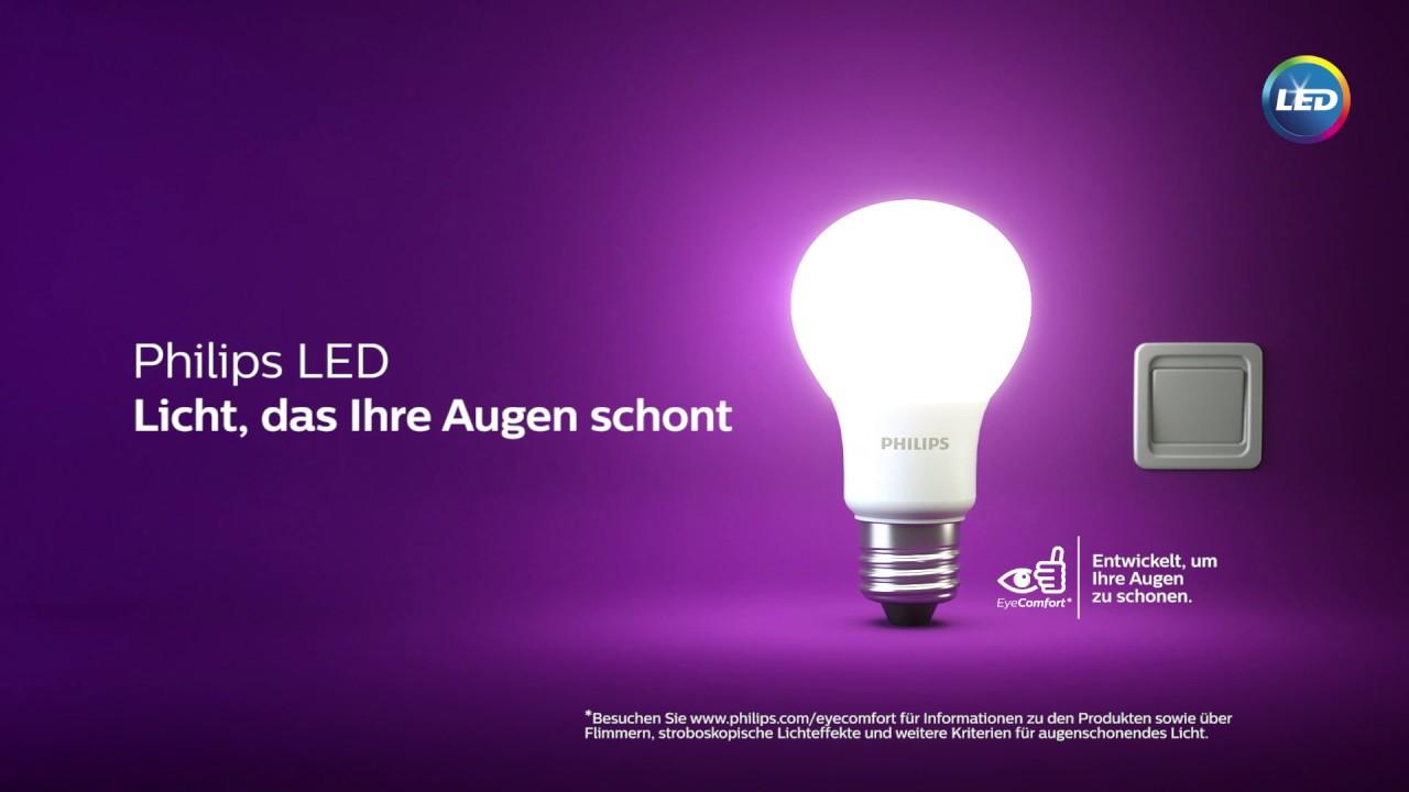 Led Licht Schoenen : Philips led eyecomfort licht das die augen schont youtube