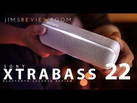 Sony Xtrabass Xb22 Bluetooth Speaker Review Youtube