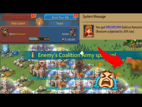 My Solo Trap Got Hit By A Rally In Fury! + 1b Gold Randsom | Lords Mobile
