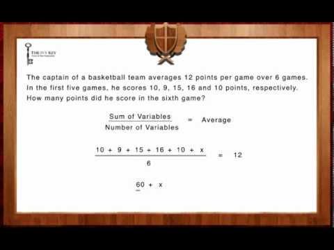 SHSAT Math - Word Problems - Medium 1 - YouTube