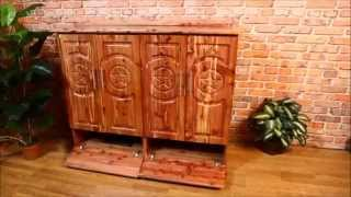 Last Tangents Television and Media Storage Cabinet