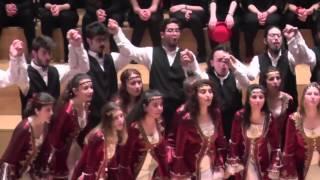 Jugendchor Bogazici Jazz Choir/Türkei: Yol Havasi, EJCF Basel 2016