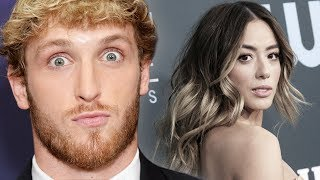 Logan Paul Reacts To Chloe Bennet New Relationship