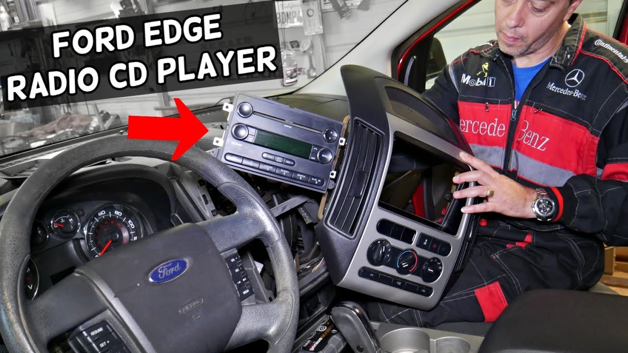 Ford Edge Radio Cd Player Replacement Removal Stereo Replacement Youtube
