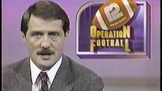 WISN Channel 12 Operation Football @ Sheboygan Falls, WI (1988)