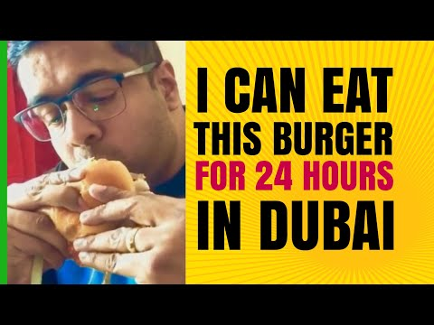 I can eat this Burger for 24 hours| Dubai's Food Blogger Discovery Gardens