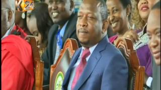 Dr. Evan Kidero's speech during the swearing in ceremony