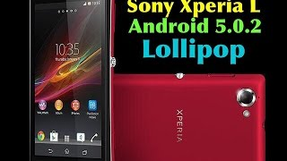 Sony XPERIA L - Android 5.0.2 Lollipop (Official Update)