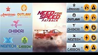 NFS Payback info speedcartes