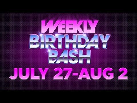 Celebrity Actor Birthdays - July 27-August 2, 2014 HD