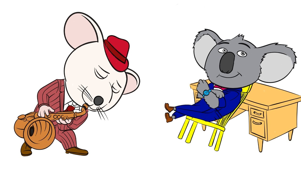 Coloring pages sing - Mike And Buster Sing Movie Coloring Book Pages Learn Coloring Video Fun For Kids