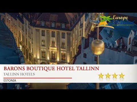 Barons Boutique Hotel Tallinn - Tallinn Hotels, Estonia