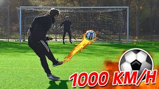 1000 km/h Free Kick Football Challenge (MONSTER HYDRO #3 - Final)