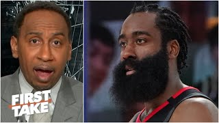 James Harden should want to play for the Nets over the 76ers - Stephen A.   First Take