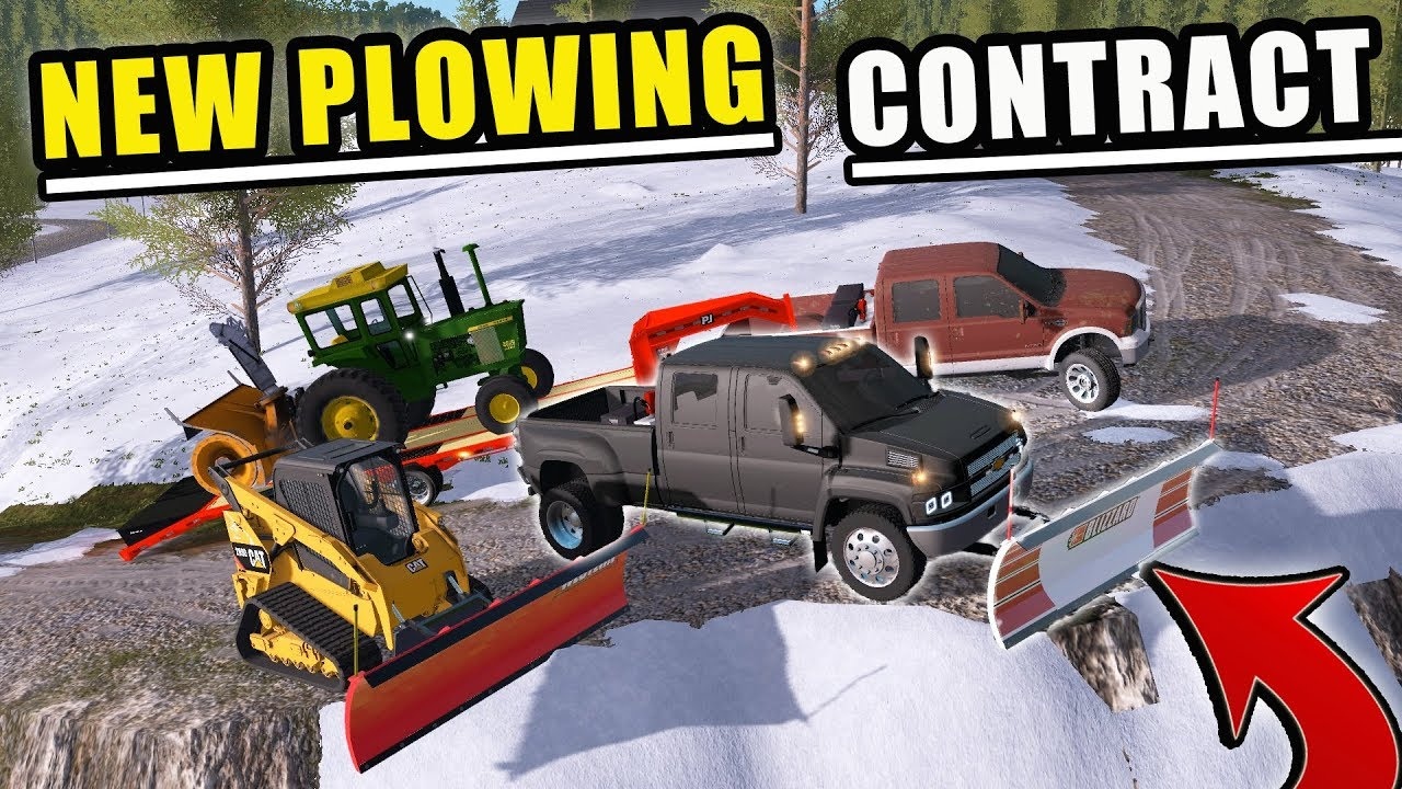 clearing-snow-for-customers-w-kodiak-f-350-skiddy-farming-simulator-2017