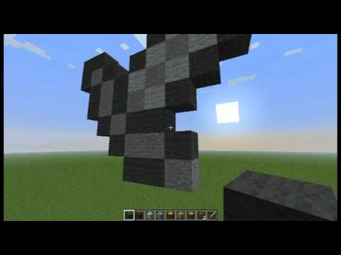 Minecraft Stone Sword Pixel Art