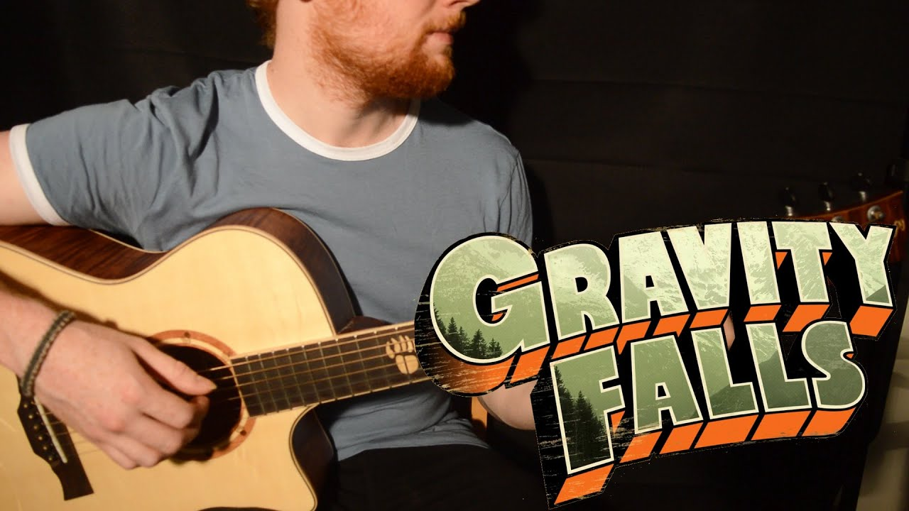 How To Play Gravity Falls Theme Song Guitar Tutorial By