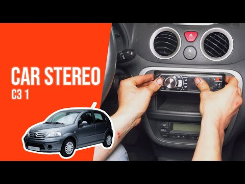 TUTORIAL CITROËN C3  How to change the car radio
