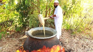 Mutton Haleem Recipe   Making Of Haleem Recipe For 500 People   Ramzan Special Recipe