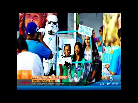 Mission Federal Credit Union on CBS's CW Previewing the Autism Speaks Walk