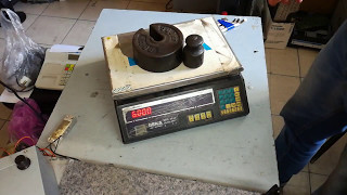 Калибруем китайские весы BEKA  Calibration (градуировать; калибровать;  тарировать)