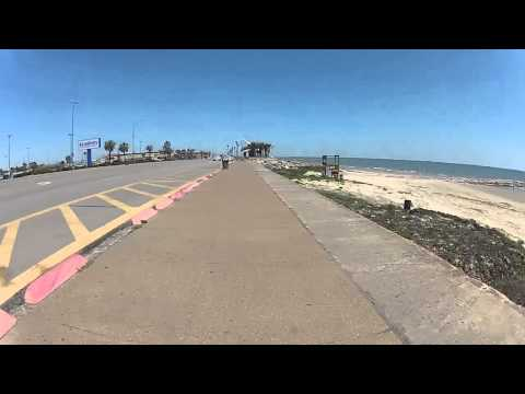 GALVESTON SEAWALL RIDE
