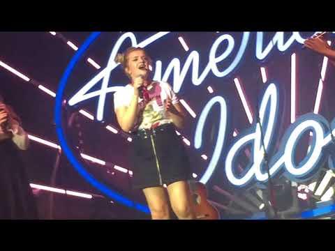 American Idol Live S16: Maddie Poppe - Going Going Gone | Monroe, WA 8.28.18