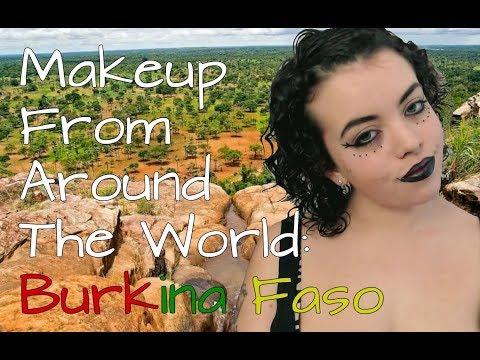 Makeup From Around The World: Burkina Faso   TRW