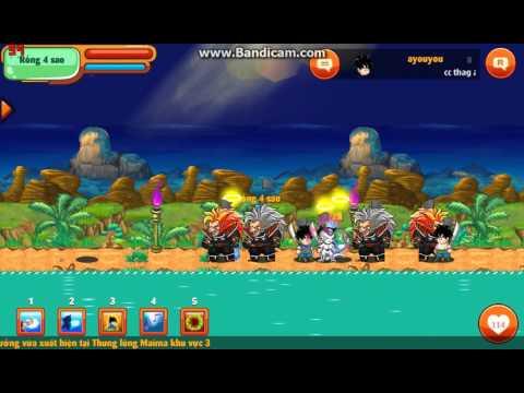 Ngọc Rồng Online : Bang [A]Thật Lòng[E] Cướp Ngọc Rồng Đen 4 sao khu 7