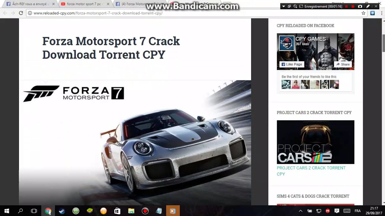 download forza motorsport 7 cpy youtube. Black Bedroom Furniture Sets. Home Design Ideas