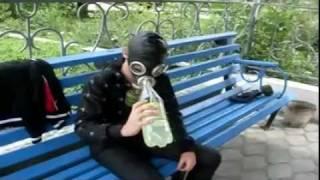 Прохладный-VIDEO:Противогаз(Всем привет!Если вас всегда интересовало может ли человек пить из противогаза-то это видео для вас!!!, 2011-04-07T12:25:05.000Z)