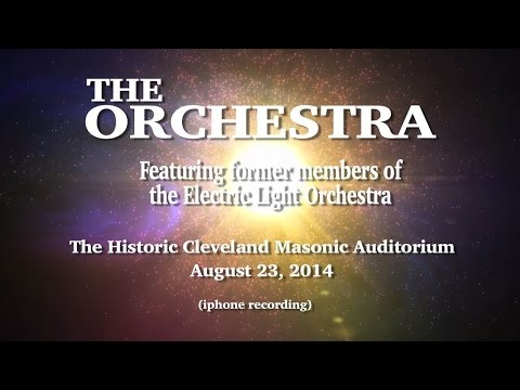 The Orchestra .... featuring former members of The Electric Light Orghestra