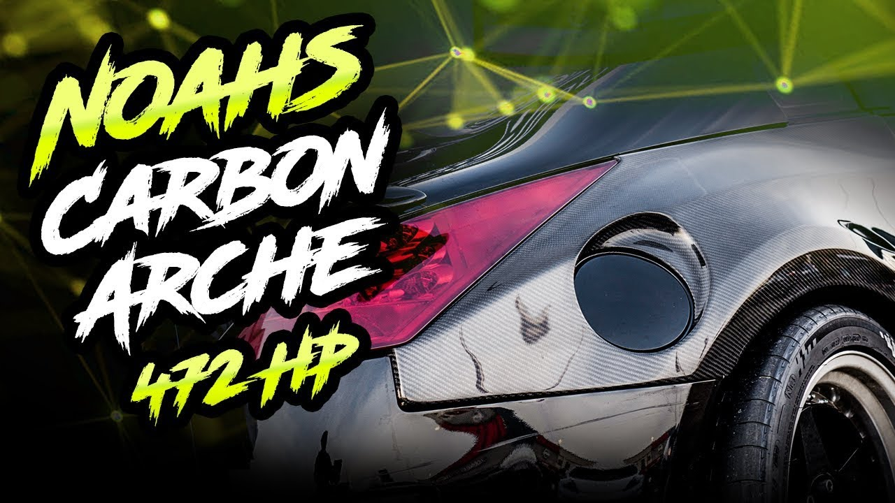 🚢 Noahs Carbon Ark: Nissan 350Z HR Stillen Supercharger with 472 HP and  478 Nm!